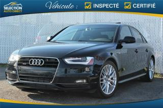 Used 2016 Audi A4 Komfort Plus S Line for sale in Ste-Rose, QC
