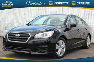 Used 2016 Subaru Legacy 2.5i  AWD for sale in Ste-Rose, QC