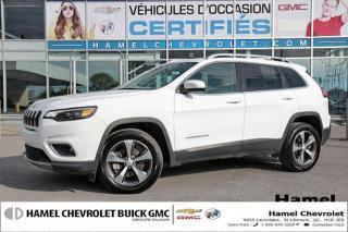 Used 2019 Jeep Cherokee LIMITE * TOIT PANO. * BLUET./NAVI * CAM. PARKVIE for sale in St-Léonard, QC
