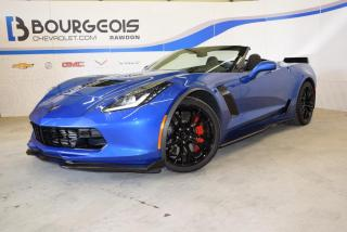 Used 2019 Chevrolet Corvette Convertible Z06 *** presque neuf !!! *** for sale in Rawdon, QC