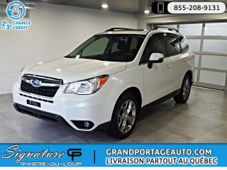 Used 2016 Subaru Forester 2.5i Limited Ens. Techno Cuir Toit *Ultr for sale in Rivière-Du-Loup, QC
