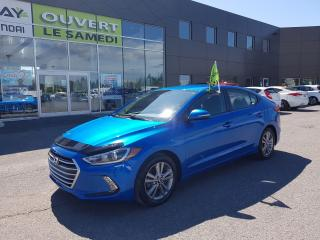 Used 2017 Hyundai Elantra GL, a/c, mags, bluetooth, camera de recul for sale in Chambly, QC