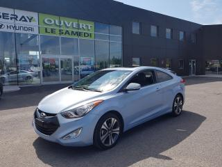 Used 2013 Hyundai Elantra SE, 25375 km, cuir, toit, mags, nav for sale in Chambly, QC