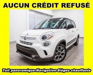 Used 2014 Fiat 500 L TREKKING *NAVIGATION* TOIT *SIEGES CHAUFF* PROMO for sale in St-Jérôme, QC
