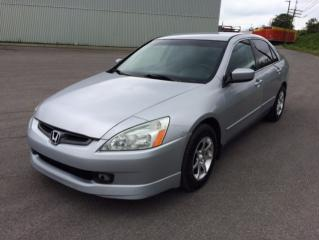Used 2003 Honda Accord Berline 4 portes, boîte automatique - LX for sale in Quebec, QC