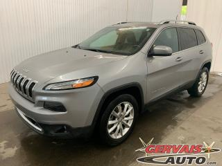 Used 2016 Jeep Cherokee Limited V6 4X4 GPS Cuir Toit Ouvrant MAGS for sale in Shawinigan, QC