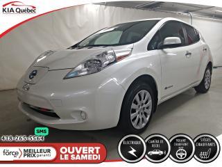 Used 2016 Nissan Leaf S* SIEGES CHAUFFANTS* CAMERA* CECI EST UN 2017* for sale in Québec, QC