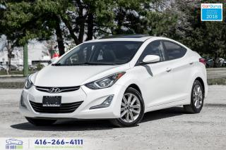 Used 2014 Hyundai Elantra GLS Alloys Sunroof Certified Serviced We Finance for sale in Bolton, ON