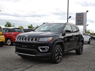 Used 2018 Jeep Compass LIMITED 4X4 *CUIR*TOIT*GPS* for sale in Brossard, QC