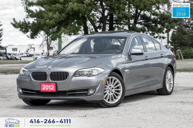 2012 BMW 5 Series 535i xDrive 360Cam CleanCarfax Certified WeFinance