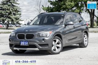 Used 2014 BMW X1 28x AWD PanoRoof Clean Carfax Certified We Finance for sale in Bolton, ON