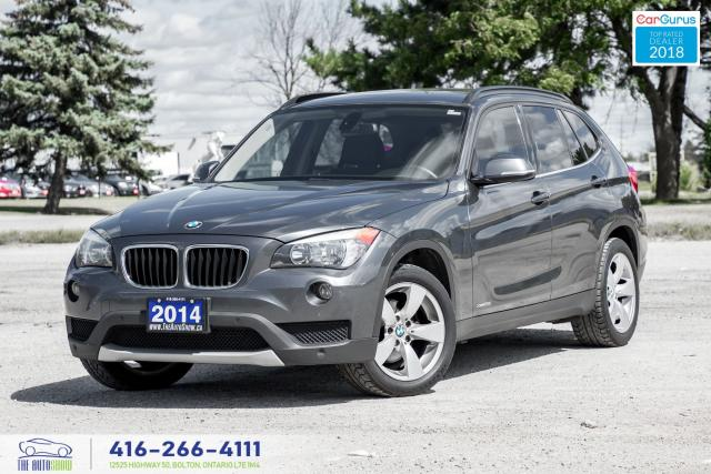 2014 BMW X1 28x AWD PanoRoof Clean Carfax Certified We Finance