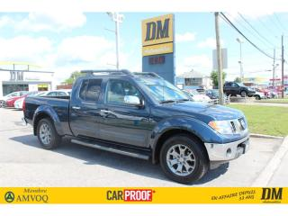 Used 2019 Nissan Frontier SL CREW **5 300 KM* 4X4 CUIR BOITE 6 PIEDS 1 POUCE for sale in Salaberry-de-Valleyfield, QC