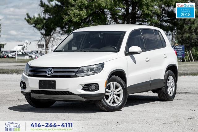 2014 Volkswagen Tiguan AWD CleanCarfax Certified DVD AutoStart We Finance
