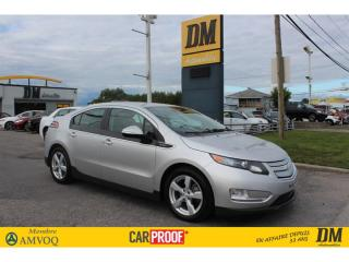 Used 2015 Chevrolet Volt CAMERA DÉMARREUR SIÈGES CHAUFFANTS BLUETOOTH for sale in Salaberry-de-Valleyfield, QC