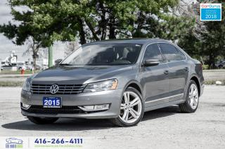 Used 2015 Volkswagen Passat TDI Highline Leather/Roof/Navi Certified Financing for sale in Bolton, ON