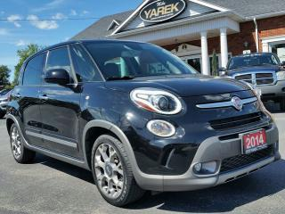 Used 2014 Fiat 500 L Trekking, Heated Seats, Back Up Cam/Sensors, Satellite Radio, Bluetooth for sale in Paris, ON