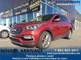 Used 2017 Hyundai Santa Fe LTD+2.0T+AWD+GPS+CUIR+TOIT PANO+CAMERA for sale in Sherbrooke, QC