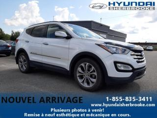 Used 2014 Hyundai Santa Fe LTD+CUIR+GPS+DEMARREUR+TOIT PANO+CAMERA for sale in Sherbrooke, QC