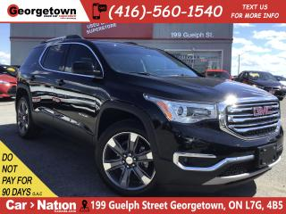 Used 2017 GMC Acadia SLT-2 | NAVI | PANO ROOF | AWD | LEATHER | B/U CAM for sale in Georgetown, ON
