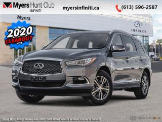 Used 2020 Infiniti QX60 Essential AWD  -  Sunroof -  Heated Seats for sale in Ottawa, ON