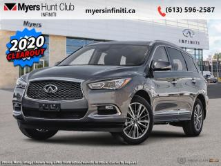 New 2020 Infiniti QX60 Sensory AWD  -  Sunroof for sale in Ottawa, ON
