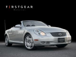 Used 2002 Lexus SC 430 leather for sale in Toronto, ON