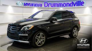 Used 2013 Mercedes-Benz ML-Class ML63 AMG + GARANTIE + DESIGNO + NAVI + W for sale in Drummondville, QC