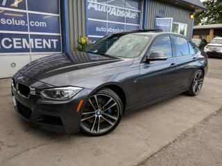 Used 2014 BMW 3 Series 335i xdrive + m package + manuelle for sale in Boisbriand, QC