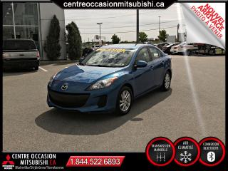 Used 2012 Mazda MAZDA3 4 porte manuelle, GS-SKY A/C BLUETOOTH for sale in St-Jérôme, QC