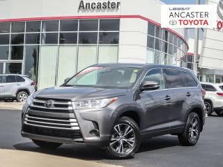 Used 2018 Toyota Highlander LE - LANE ASSIST|FORWARD COLLISION|BLUETOOTH|CAMERA for sale in Ancaster, ON