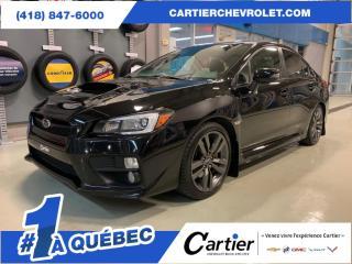 Used 2016 Subaru WRX *MANUEL*NAV*CUIR**AWD* JAMAIS ACCIDENTE for sale in Québec, QC