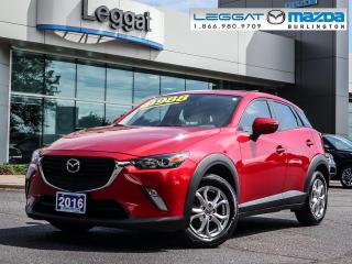 Used 2016 Mazda CX-3 GS- LUXURY PKG, BLUETOOTH, REAR CAMERA, MOONROOF for sale in Burlington, ON