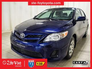 Used 2013 Toyota Corolla CE for sale in Québec, QC