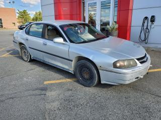 Used 2003 Chevrolet Impala LS for sale in Val-D'or, QC