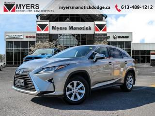 Used 2017 Lexus RX 350 Base  - Leather Seats -  Bluetooth - $299 B/W for sale in Ottawa, ON