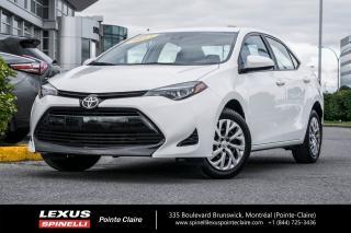 Used 2017 Toyota Corolla **LE** **GROUPE ELECTRIQUE**DEMARREUR A DISTANCE**ALERTE CHANGEMENT DE VOIE*ALERTE COLLISION FRONTALE* for sale in Montréal, QC