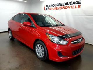 Used 2014 Hyundai Accent GL for sale in Drummondville, QC