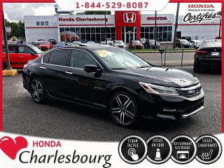 Used 2016 Honda Accord TOURING **GPS**TOIT OUVRANT**CUIR** for sale in Charlesbourg, QC