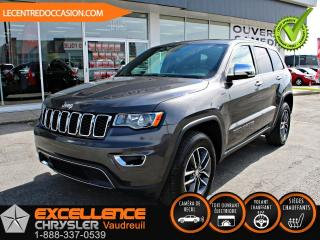 Used 2017 Jeep Grand Cherokee LIMITED *CUIR/TOIT/CAMERA* for sale in Vaudreuil-Dorion, QC