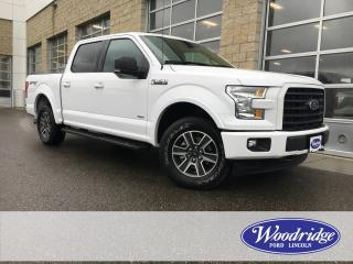 Used 2017 Ford F-150 XLT ***PRICE REDUCED*** 2.7L, SPORT, CLOTH HEATED SEATS, TAILGATE STEP, NO ACCIDENTS for sale in Calgary, AB