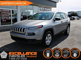 Used 2016 Jeep Cherokee SPORT *CAMERA/ENSEMBLE TEMPS FROID* for sale in Vaudreuil-Dorion, QC