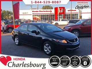 Used 2015 Honda Civic LX **CAMÉRA DE RECUL** for sale in Charlesbourg, QC