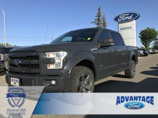 Used 2016 Ford F-150 Lariat Max Trailer Tow - Remote Start - Reverse Camera for sale in Calgary, AB