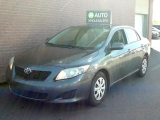 Used 2010 Toyota Corolla CE THIS WHOLESALE CAR WILL BE SOLD AS-TRADED! INQUIRE FOR MORE! for sale in Charlottetown, PE