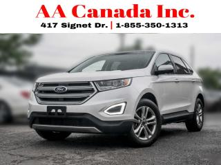 Used 2017 Ford Edge SEL |LEATHER|PANOROOF|NAVI| for sale in Toronto, ON