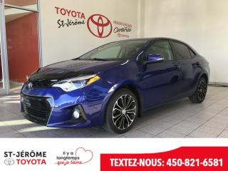 Used 2015 Toyota Corolla * SPORT * TOIT * MAGS * * AIR * for sale in Mirabel, QC