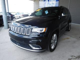 Used 2017 Jeep Grand Cherokee Summit GPS CUIR MAG TOIT PANO for sale in Mirabel, QC