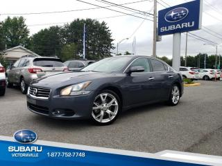 Used 2012 Nissan Maxima Berline 4 portes 3.5 SL Cuir, toit ouvra for sale in Victoriaville, QC