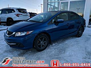 Used 2015 Honda Civic LX 4 portes, boîte automatique for sale in Sorel-Tracy, QC
